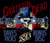 GRATEFUL DEAD - 2013 DAVE'S PICKS BONUS CD COVER